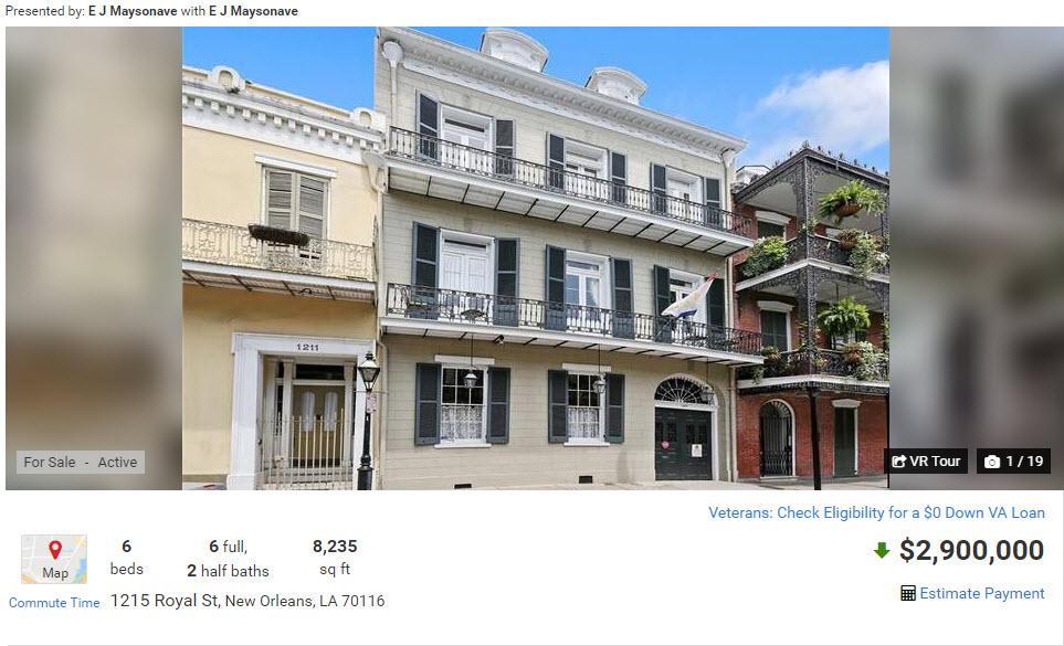 1215 Royal St, New Orleans, LA 70116