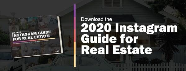 2020 instagram guide for real estate - banner