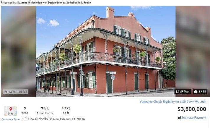 600 Gov Nicholls St, New Orleans, LA 70116