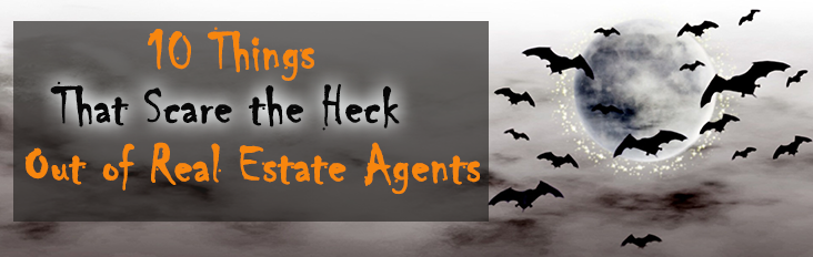 Halloween Funny Things that Scare Real Estate Agents