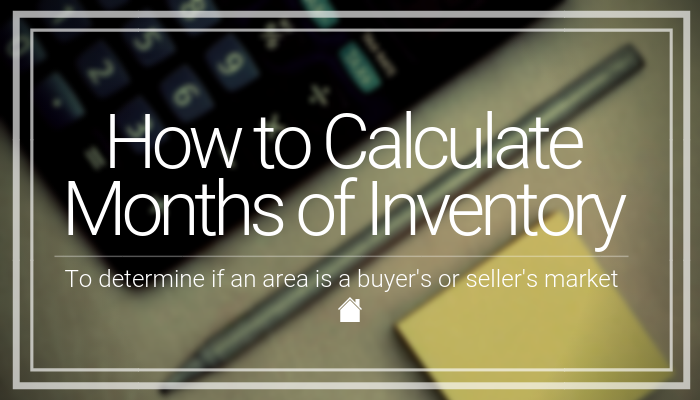 Calculate Months Of Inventory