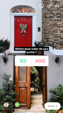 Example B.1 Which Door color do you prefer