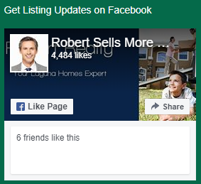 Robert's Website's Facebook Widget